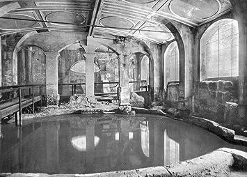 Amazon.com: clásico Cartel De Viaje – Baños romanos y de ...