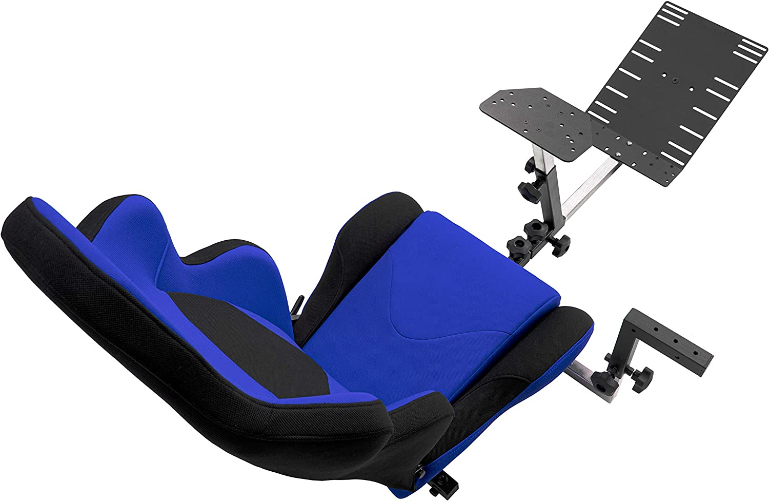 G920 Fits All Logitech G29 Compatible with Xbox One All Fanatec Wheels PC Platforms All Thrustmaster Openwheeler GEN2 Racing Wheel Stand Cockpit Blue on Black Playstation