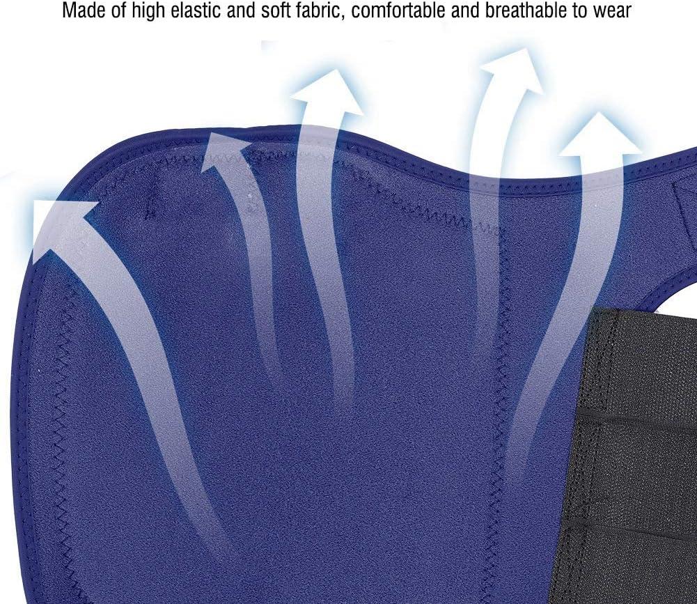 Dark Blue Horse Boot Leg Protector Adjustable Horse Splint Tendon Leg Support Wrap Foot Guard Equipment 1 Pair