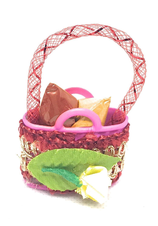 Amazon.com: Pack of 12 Haldi Kumkum handmade decorative basket: Handmade