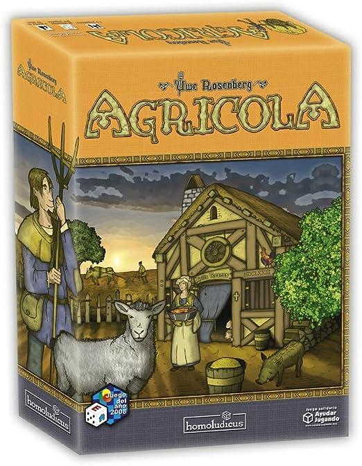 Devir - Agricola (25050): Amazon.es: Juguetes y juegos