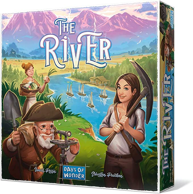 Days of Wonder- The River, Multicolor (Asmodee): Amazon.es ...