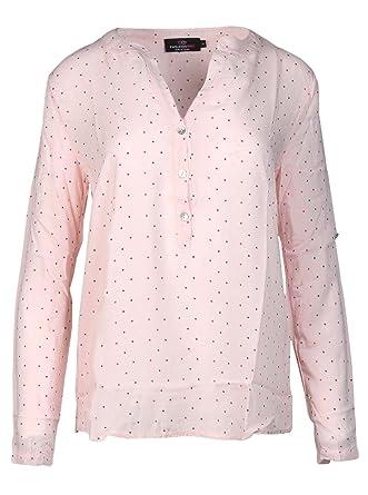 72d47958babd Zwillingsherz Bluse Damen mit Sternen - Sommer Hemd - Hochwertige Schöne  und luftige Tunika Chiffon Blusen für Frauen - Elegantes Langarm Oberteile  T-Shirt ...