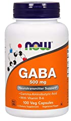 Now Foods<br>GABA 500 mg