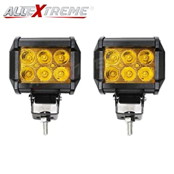 Allextreme 6 led fog light work light bar spot beam off road allextreme 6 led fog light work light bar spot beam off road driving lamp 2 aloadofball Choice Image