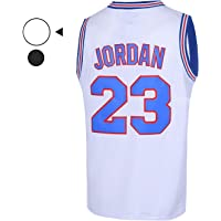 957c942e54b EMERPUS Youth 23  Space Moive Jersey Kids Basketball Jersey for Boys S-XL  White
