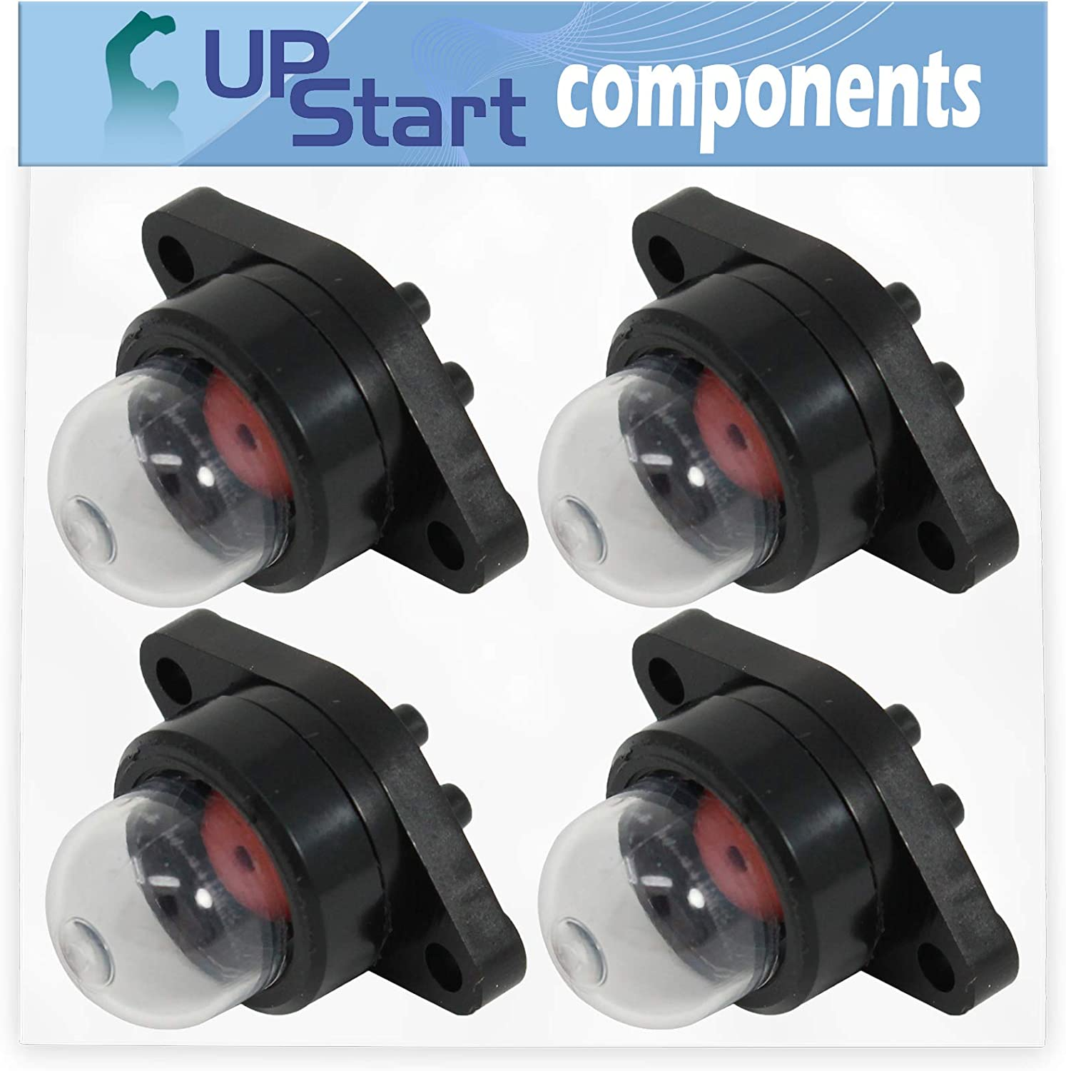 UpStart Components 4-Pack 530071835 Primer Bulb Replacement for Craftsman 358352181 Chainsaw Compatible with 188-513-1 530047213 Purge Bulb