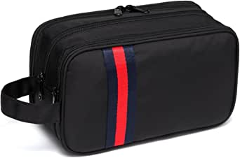 Large Toiletry Bag,VASCHY Waterproof Travel Kit Case for Makeup, Cosmetic, Shaving with Separate Compartments
