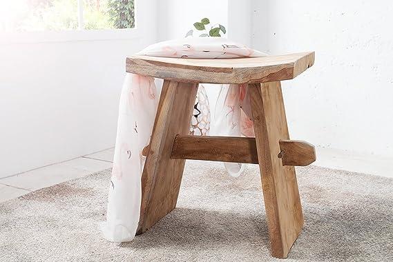 Invicta interior design japan classico zen sgabello in legno