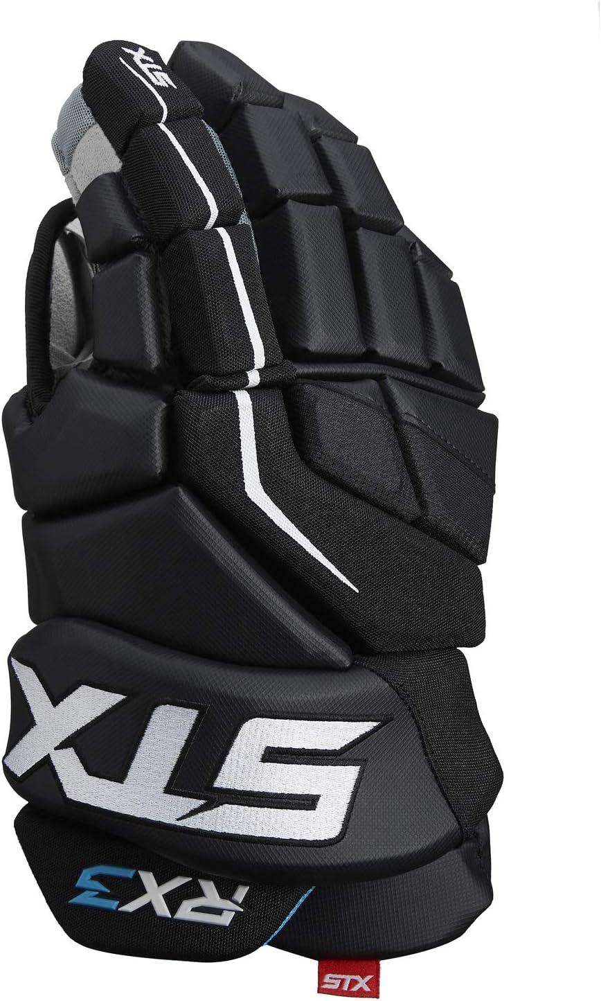 STX HG RX30 13 BK//BK Ice Hockey Surgeon RX3 Glove 13 Black 13