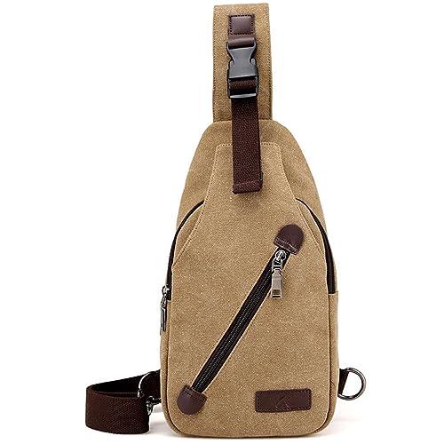 b6694b258 liujingjing Chest Shoulder Bag Lightweight Sling Backpack Crossbody Bag for  Men Women Anti Theft Casual Travel