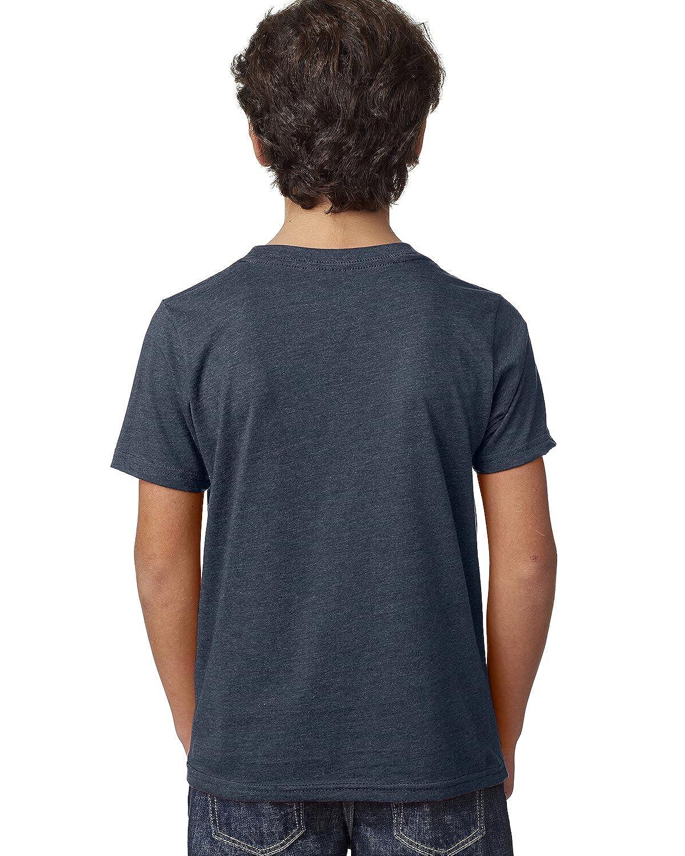 Small Midnight Navy Next Level Big Boys Crewneck Shrinkage Gorgeous T-Shirt