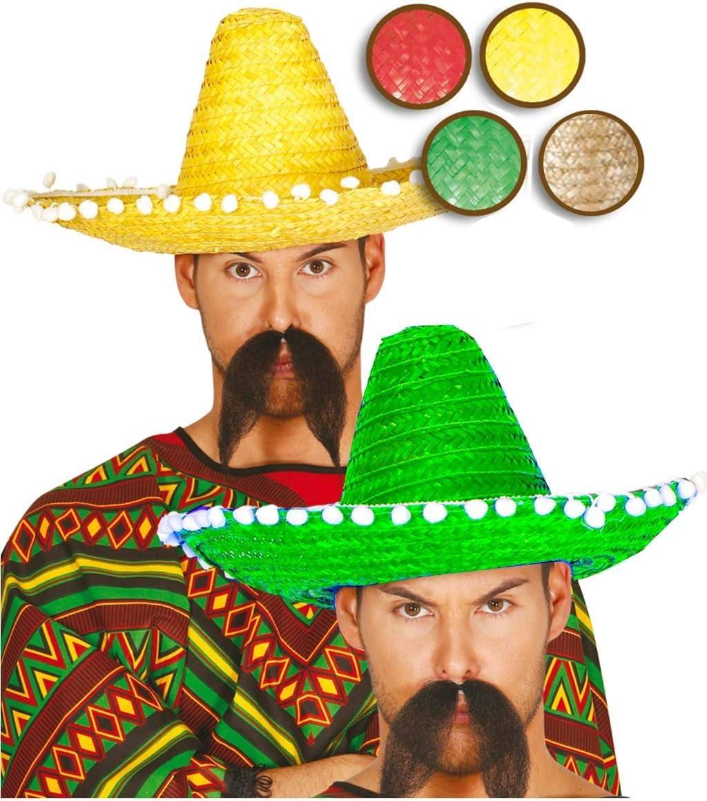 Sombrero Mejicano 45cm Rojo - Sombreros, Gorros, Cascos y Diademas