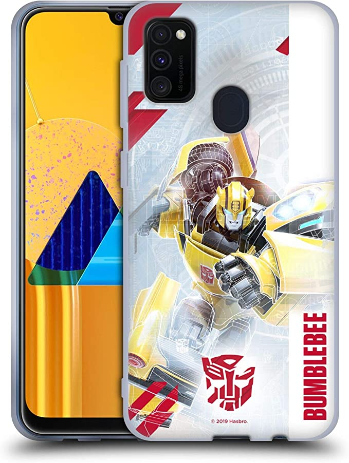 Head Case Designs Officially Licensed Transformers Bumblebee Autobots Key Art Soft Gel Case Compatible with Galaxy M30s (2019)/M21 (2020)