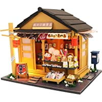 Flever Dollhouse Miniature DIY House Kit Creative Room with Furniture for Romantic Valentine's Gift(Chao Yang Grocery…