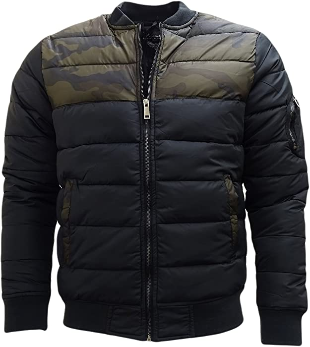 Half Coat Designs | Amazon Com Brave Soul Black Camo Top Half Jacket Outerwear Coat