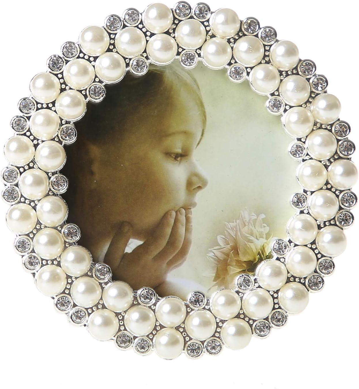 Enchante Accessories Picture Photo Frame Black Ornate Scroll Fleur Vintage 4 x 6