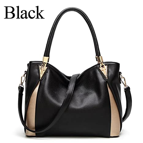 ff739b0c5668 Image Unavailable. Image not available for. Color  Easygill Luxury Handbags  Women Bags Designer Shoulder Bag Tote PU Leather Handbags