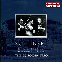Piano Trios Nos. 1 Op. 99 and 2 Op. 100 (Borodin Trio)