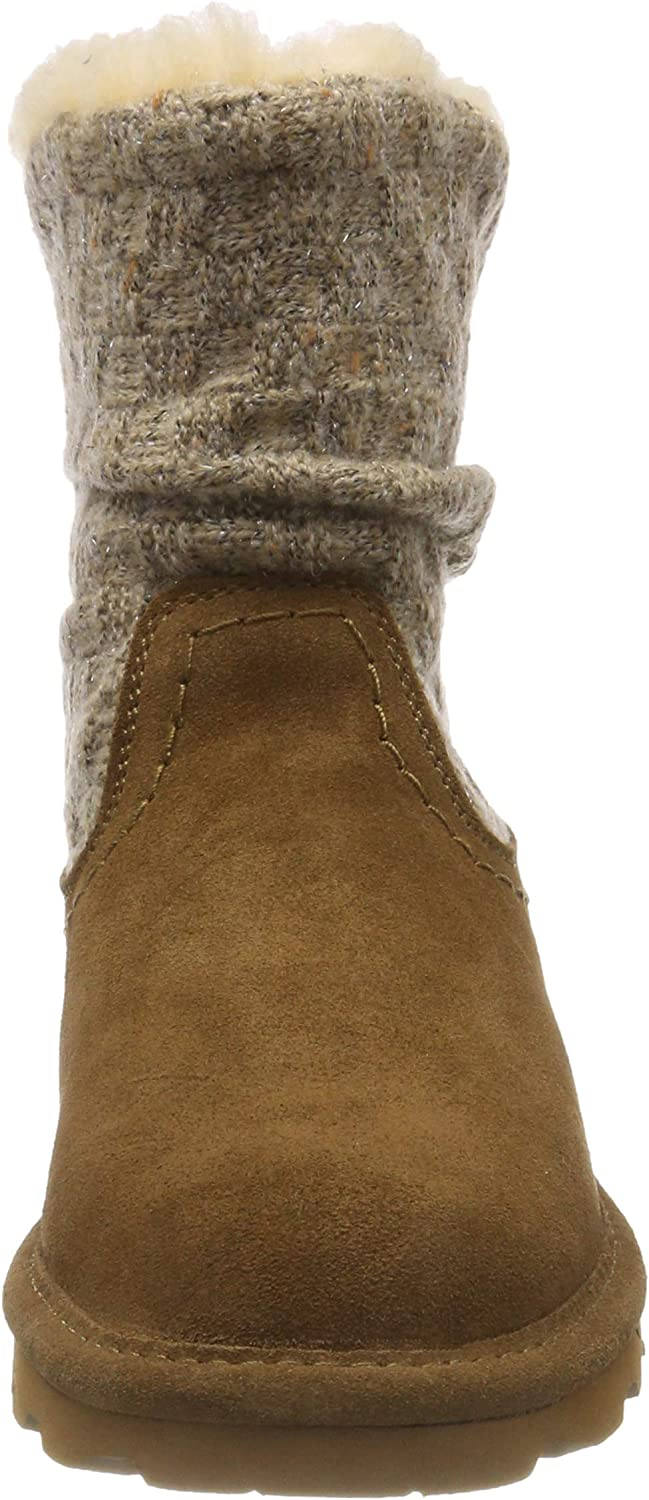 Bearpaw Womens Virginia Fabric Closed Toe Ankle Boots