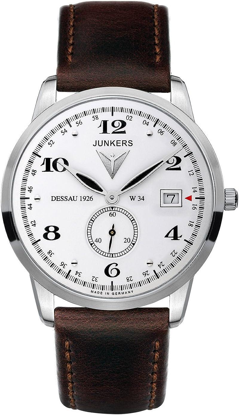 Junkers Men s Watches Dessau 1926 Flatline 6334-1 – 2