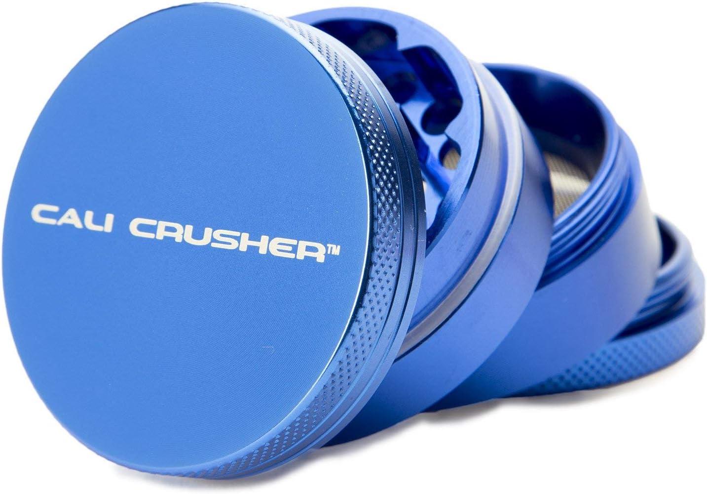 Cali Crusher Herb Grinder 4 Piece Blue