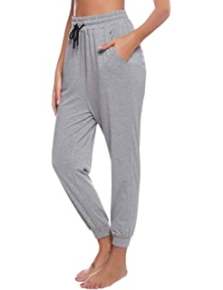 Casual Standard Pantalones de chándal para Mujer, Color Gris ...