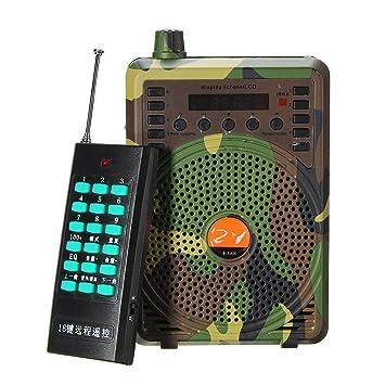 48 W altavoz caza pájaro llamada Predator sonido llamada MP3