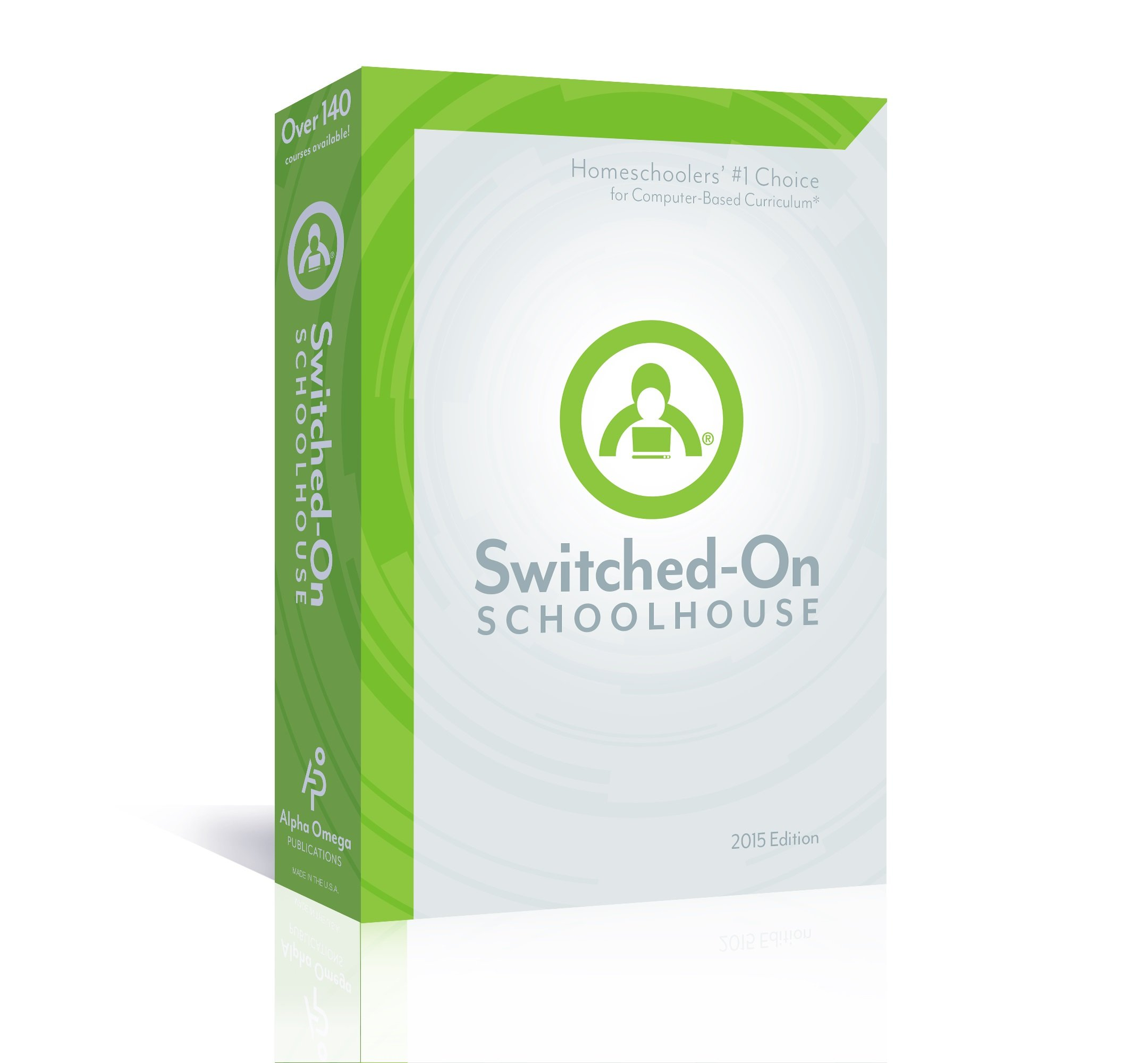 Read Online 2015 Switched on Schoolhouse, 12th Grade, Grade 12, Language Arts Curriculum by AOP (Alpha Omega HomeSchooling), SOS CD-ROM pdf