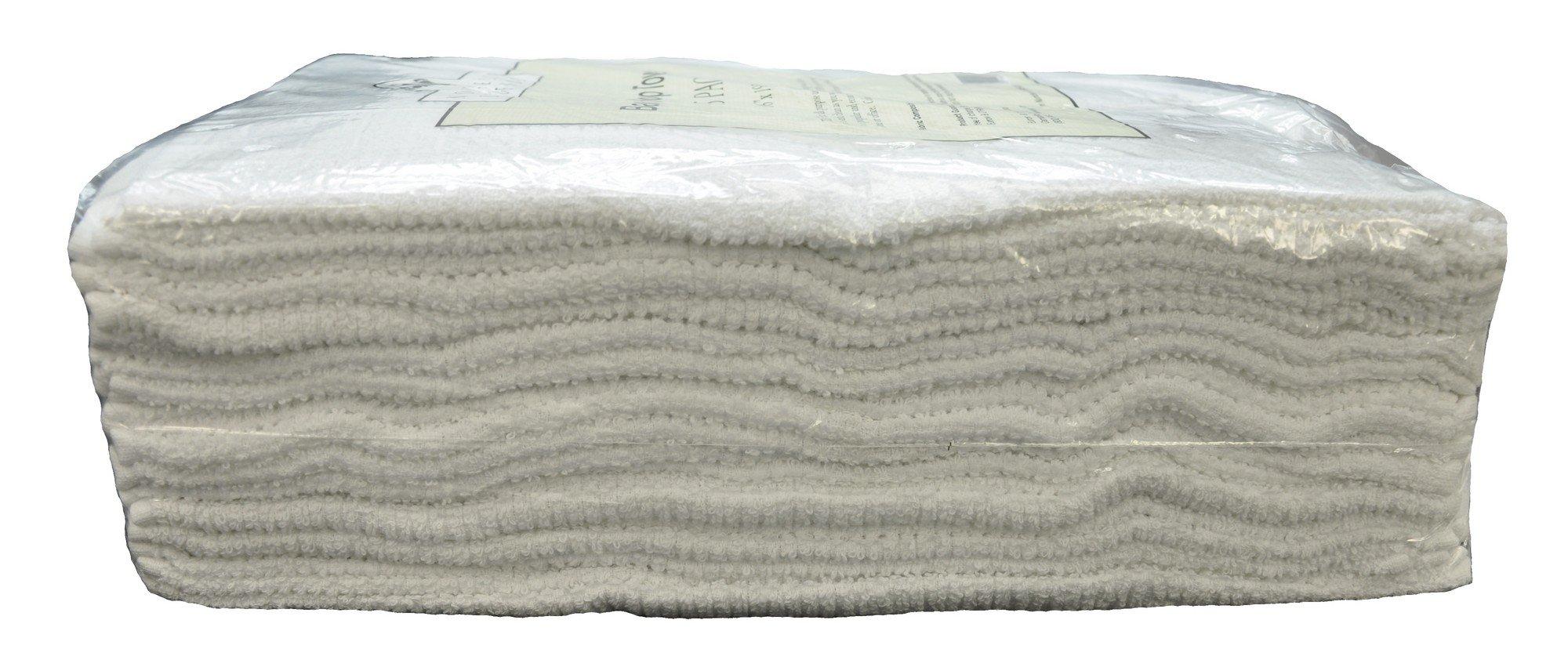 Nouvelle Legende Cotton Bar Mop Ribbed Towels Commercial Grade (25-Pack) by Nouvelle Legende (Image #3)