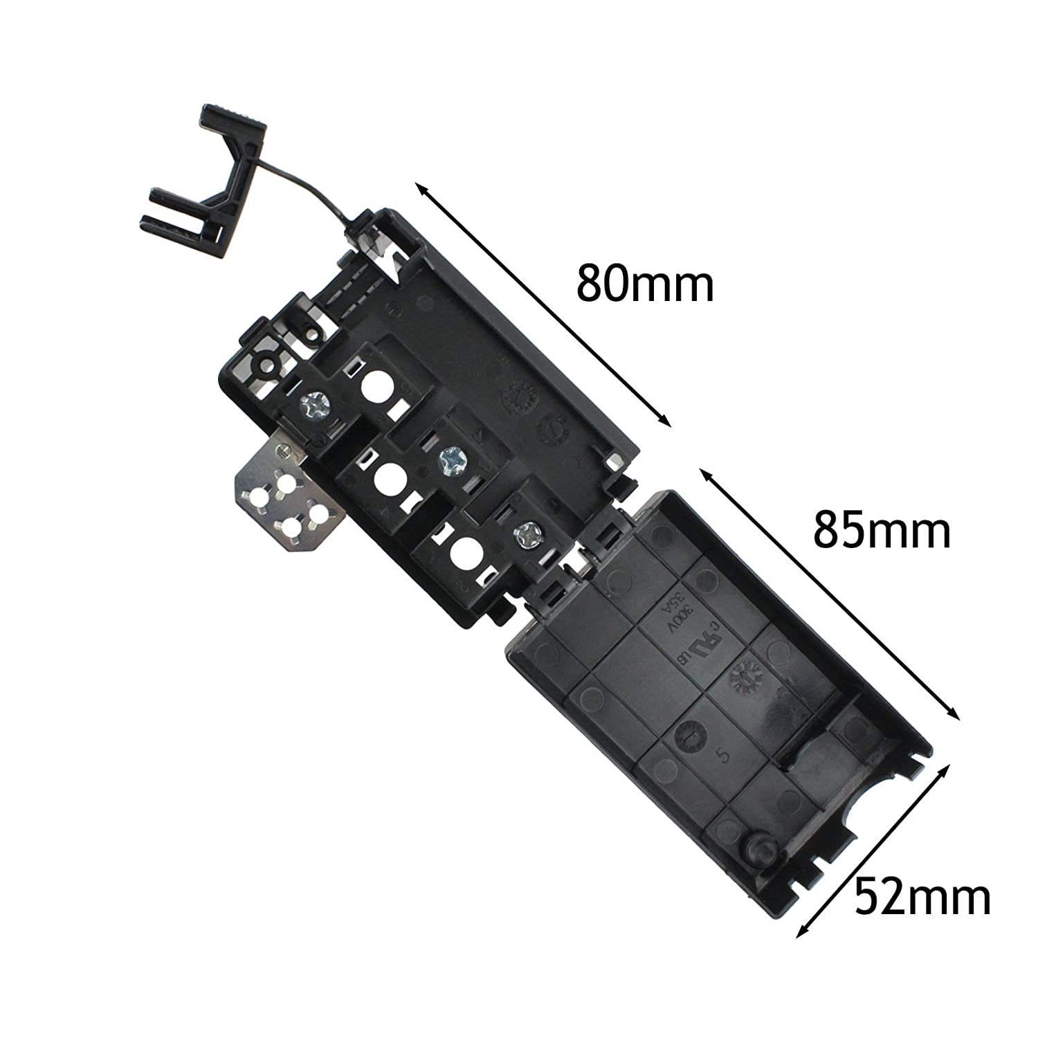 amazon com indesit oven cooker hob mains terminal block junction rh amazon com Electrical Junction Box Installation Telephone Wiring Junction Box