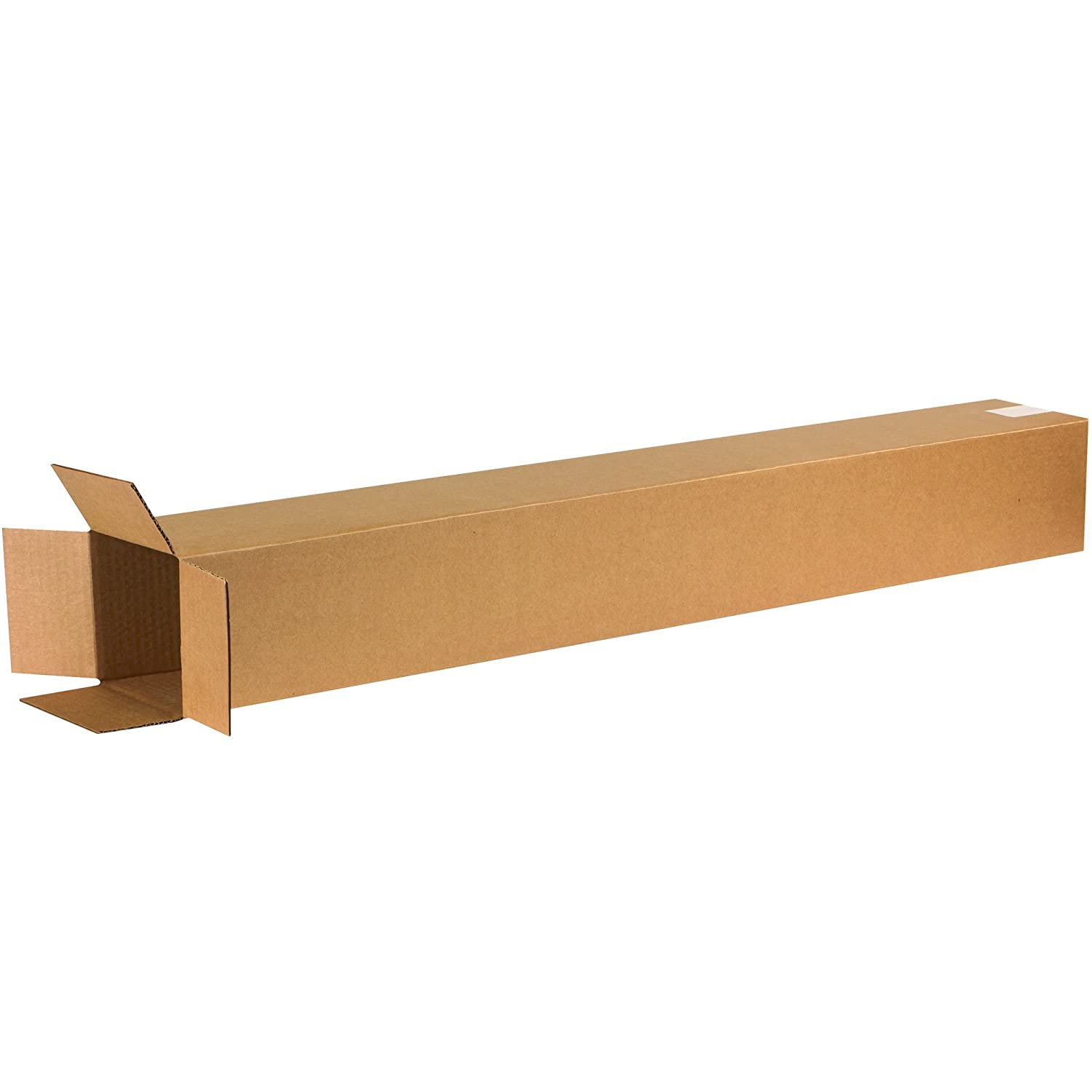 Pack of 25 Ship Now Supply SN6648 Tall Corrugated Boxes 6L x 6W x 48H Kraft