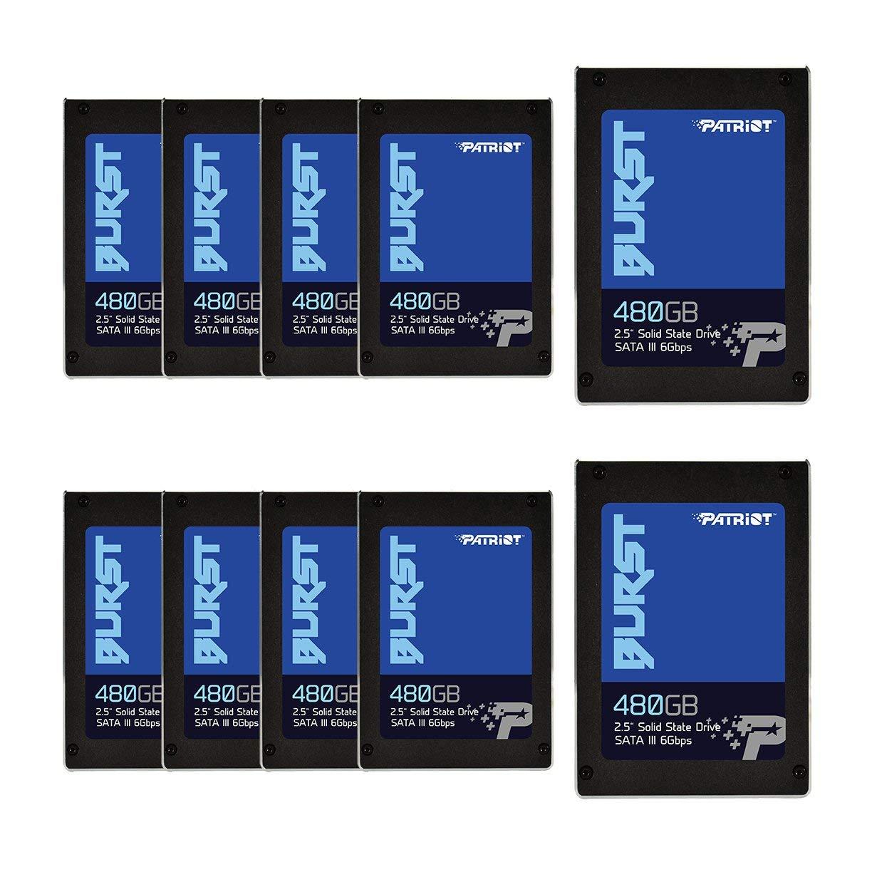 Patriot Memory Burst Unidad de Estado s/ólido 2.5 960 GB Serial ATA III 960 GB, 2.5, 6 Gbit//s Disco Duro s/ólido