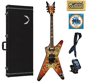 Amazon.com: Dean Guitars dimebonics Floyd Rose Guitarra ...