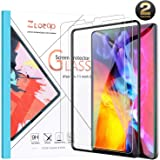 Ztotop Screen Protector for iPad Pro 11 2nd Generation 2020, [2 Pack] Face ID and iPad Pencil Compatible/ 9H Tempered Glass Screen Protector for iPad 11 2020/2018 (1st Gen)