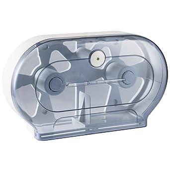 janilec ahm595-cr lineacqualba 595 doble dispensador de papel higiénico, 293 mm H x