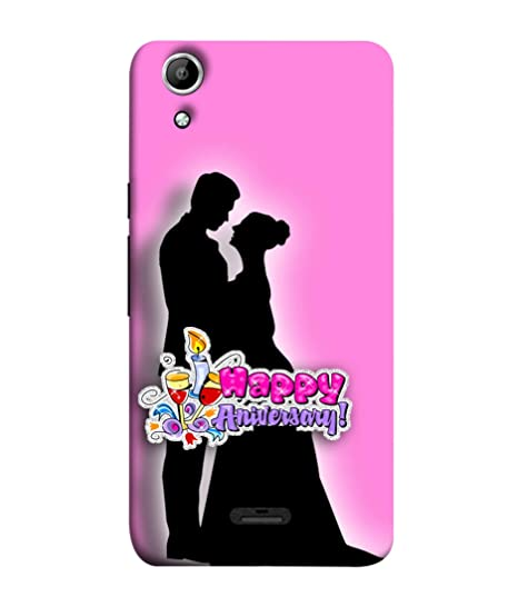 official photos 717d4 dc934 Micromax Canvas Selfie Lens Q345 Back Cover Couple In: Amazon.in ...