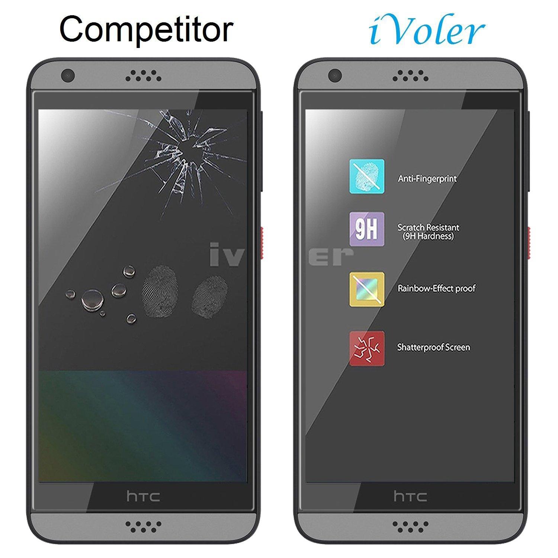iVoler Protector de Pantalla para HTC Desire 530, Cristal Vidrio Templado  Premium: Amazon.es: Electrónica