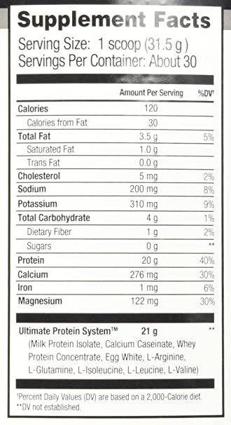 Amazon.com: Beverly International Ultimate Muscle Protein ...