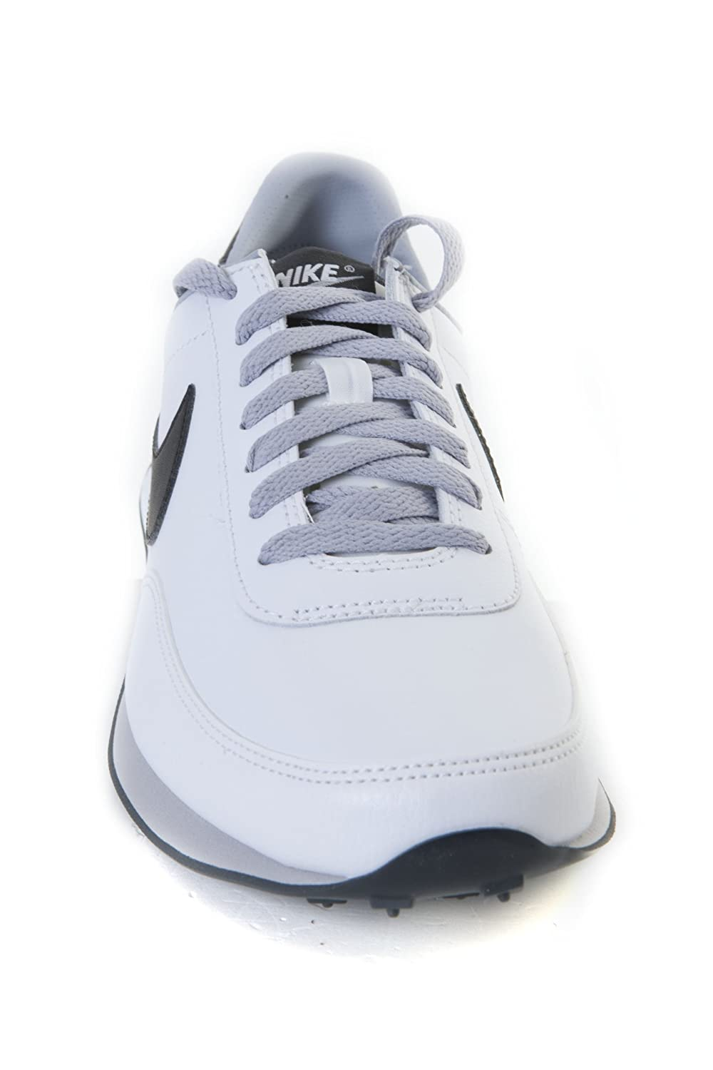 9b3b058f61e NIKE Elite Leather SI White Trainer 444337 102 for Men  Amazon.co.uk  Shoes    Bags