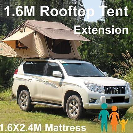 Qnlly Rooftop 3.1x1.6M Carpa de Techo para Camper Trailer 4WD 4X4 Camping Car con Escalera de Cremallera, Carpa de Camping: Amazon.es: Deportes y aire libre