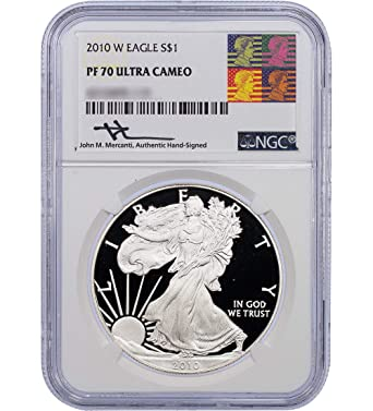 2010-W American Silver Eagle Proof NGC PF70 UCAM