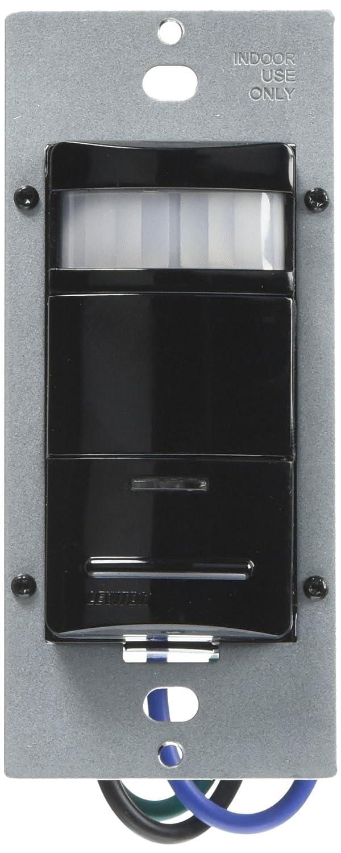 Leviton Decora 120/277 V - ods10-ide Interruptor de pared Sensor de ocupación, Negro: Amazon.es: Bricolaje y herramientas