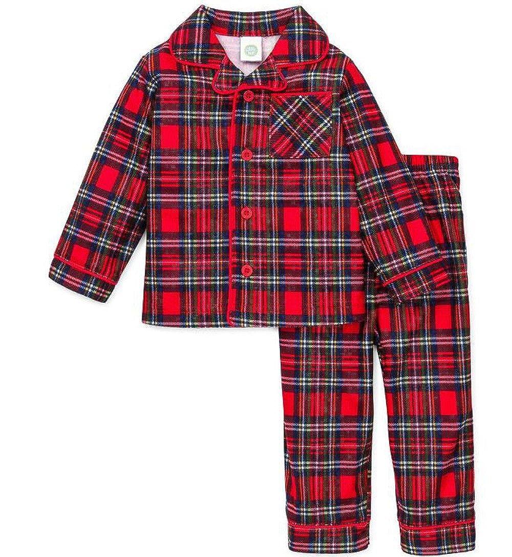 Toddler Boy Christmas Pajamas.Boys Christmas Pajamas Infant Or Toddler Plaid
