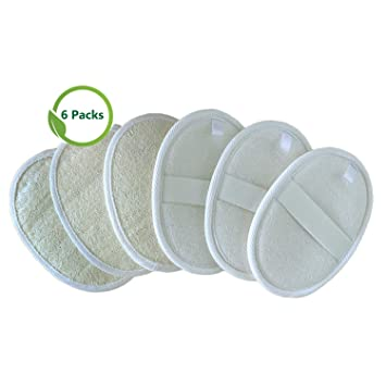 Health & Beauty 4 Pcs Loofah Sponges Exfoliating Shower Cleaner Wipes Towls Exfoliator Scrubbers Bath Brushes & Sponges