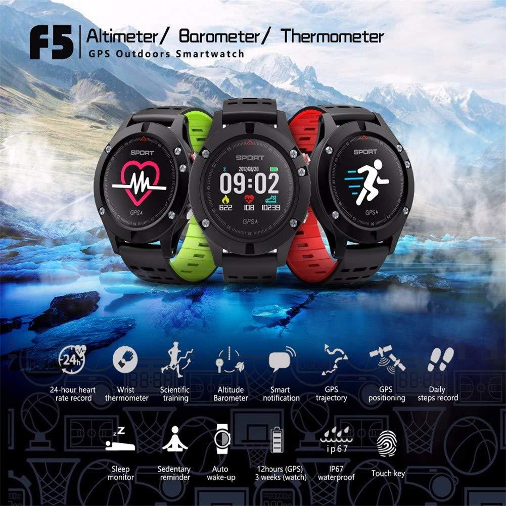 HCWF GPS Smart Watch Altímetro Barómetro Termómetro Bluetooth 4.2 ...