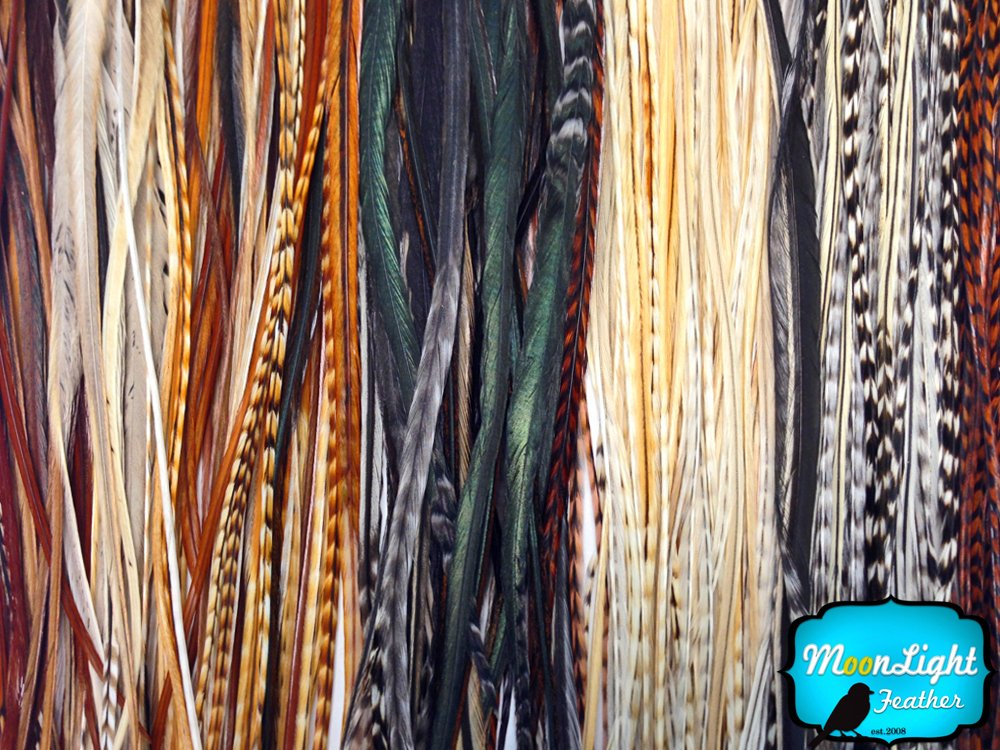 Amazon Moonlight Feather Hair Extension Feathers Wholesale