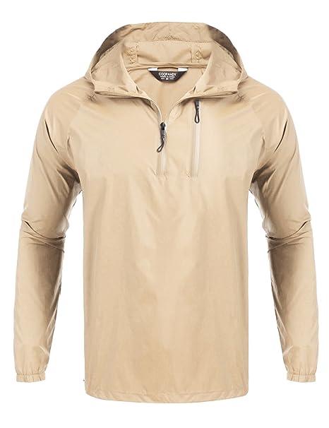 Unisex Cycling Running Hiking Waterproof Windproof Jackets Outdoor Rain Coat Top
