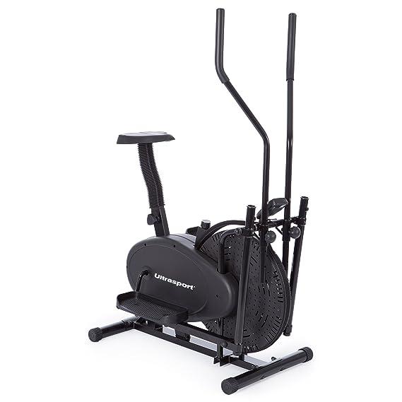 Ultrasport Basic 250 - Bicicleta elíptica, color negro: Amazon.es: Deportes y aire libre