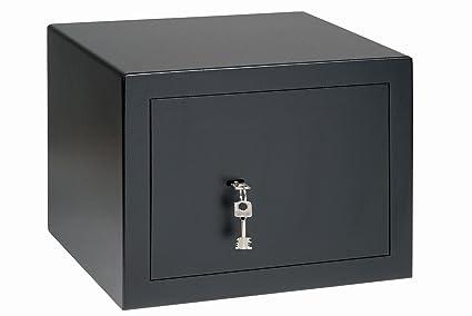 BURG-WÄCHTER Caja Fuerte, Cerradura Doble, Nivel de Seguridad B, Negro,